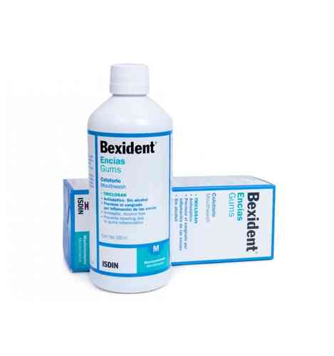 Isdin Bexident Encias Colutorio Triclosan 500 ml